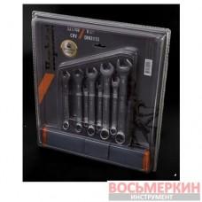 Набор ключей рожково-накидных CRV DIN 3113 8шт 321708 Miol