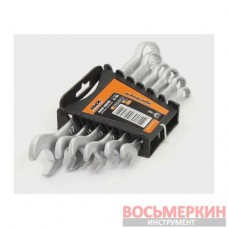 Набор ключей комбинированных CR-V 6 единиц от 8 мм до 17 мм 51-700 Miol
