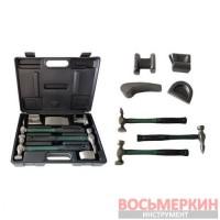 Набор инструментов рихтовочных для кузовных работ 7 предметов в кейсе RF-50713B Rock Force