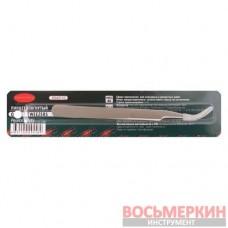 Пинцет изогнутый длина 125 мм в блистере RF-6943110 Rock Force
