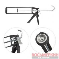 Пистолет для выдавливания герметиков рамообразный усиленный 225 мм скелет HT-0030 Intertool
