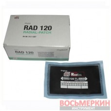 Ремонтный радиальный пластырь Tl 120 80 х 125 мм Tip top Германия