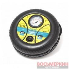 Компрессор автомобильный 18 л/мин 8А колесо 12V PA-009 Partner