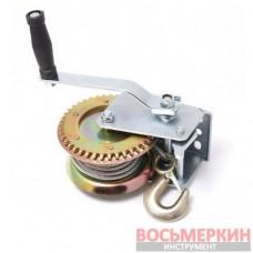 Лебедка ручная барабанного типа стальной трос 540 кг 4,5 мм х 10 м PA-6729 Partner