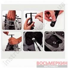 Набор для восстановления резьбы свечных отверстий 56ед. JGAI5601 TOPTUL