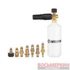 Насадка-пеногенератор универсальная для моек высокого давления 1000 мл DT-1536 Intertool