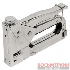 Степлер профессиональный скоб от 4 мм до 14 мм с регулятором 71-060 Miol