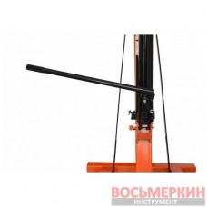 Кран подъемник гидравлический подкатной 2 тонны Siker