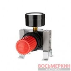 Регулятор давления 1/4 1-16 бар 1600 л/мин профессиональный PT-1429 Intertool