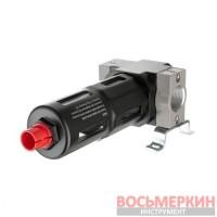 Фильтр для очистки воздуха 1/2 5мкм 1900 л/мин металл профессиональный PT-1415 Intertool