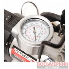 Компрессор поршневой автомобильный с фонарем 35 л/мин 15А 12V F-2014125 Forsage