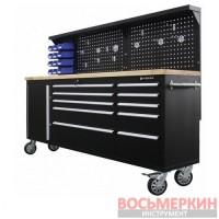 Верстак металлический передвижной 485 х 1480 х 2130 мм RF-01Y0109 Rock Force