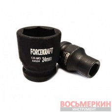 Головка ударная 18 мм 6 гранная 1/2 FK-44518 ForceKraft