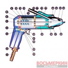 Шиповальный пистолет EPK8 Ugigrip Франция