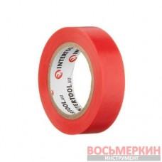 Лента изоляционная 0.15 мм х 17 мм х 10 м красная IT-0030 Intertool