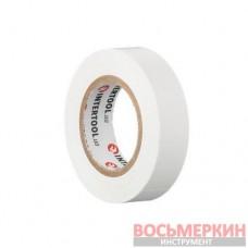 Лента изоляционная 0.15 мм х 17 мм х 15 м белая IT-0043 Intertool