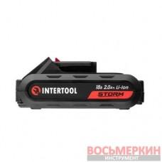 Аккумулятор Li-Ion 18В 2.0Ач для дрели-шуруповерта WT-0314/WT-0313/WT-0317 WT-0312 Intertool