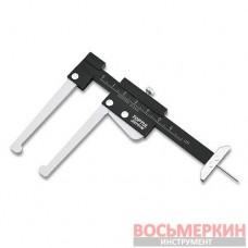 Штангенциркуль для тормозных дисков и глубины протектора шин JEEF0160 Toptul