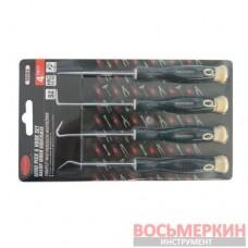 Набор крючков для демонтажа сальников с прорезиненными рукоятками 4 предмета в блистере RF-904U4 Rock Force