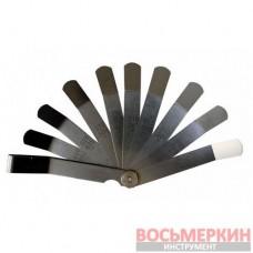 Набор щупов 9 предметов 0.23-0.66 мм в блистере RF-61803 Forsage