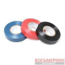 Лента изоляционная ПВХ 19 мм х 10 м 130 мк красная PA-1910130R Partner