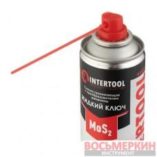 Смазка проникающая Жидкий Ключ аэрозоль 200 мл FS-4120 Intertool