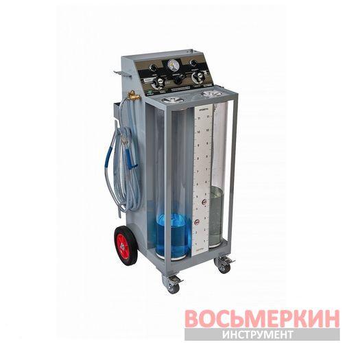 Установка для замены охлаждающей жидкости с функцией промывки CLT3000 GrunBaum