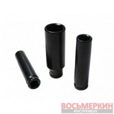 Головка ударная глубокая 12 мм 6 гранная 1/4 F-4255012 Forsage