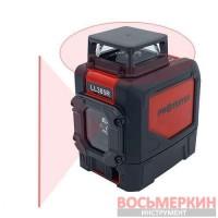 Лазерный уровень H360°/1V красный луч LL305R Protester