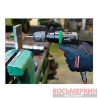 Пневмодрель реверсивная 3/8 2000 об/мин самозажимной патрон KAQA1220 Toptul