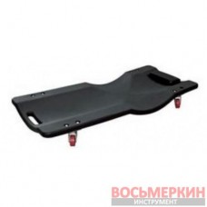 Лежак ремонтный пластиковый подкатной на 4-х колесах 400 х 920 мм RF-TRH6803 Rock Force