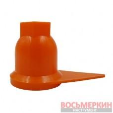 Колпачок защитный гайки колесной на 32 мм для грузовых автомобилей оранжевый