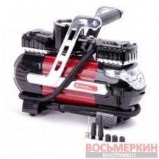 Компрессор автомобильный 12В. Два цилиндра 30 мм AC-0003 Intertool
