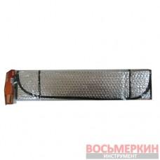 Шторка солнцезащитная на лобовое стекло 1300 х 600 фольга