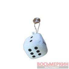 Игрушка Кубик на присоске 6 см белый