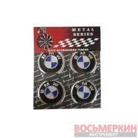 Эмблемы на колпаки BMW цена за 4 шт