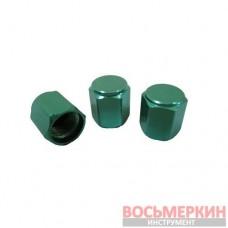 Колпачок металлический зеленый