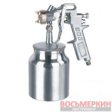 Краскопульт пневматический тип HP нижний металлический бачок диаметр форсунки 1.5мм S-990S-1.5 Auarita