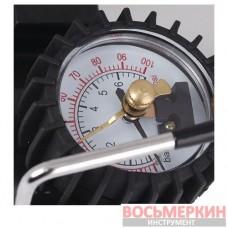 Автокомпрессор автомобильный с автостопом 81-110 Miol