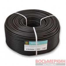 Шланг технический Black 5 х 2мм 20bar AH05*2BK Bradas