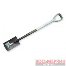 Лопата штыковая узкая Carbon Steel Ergonomic KT-W2233 Bradas
