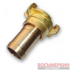 Соединитель байонетный вращающийся Geka 2000 1 - 25 мм латунь GK20104 Bradas