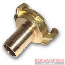 Соединитель байонетный Geka 1 1/2 - 38 мм латунь GK107 Bradas
