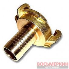 Соединитель байонетный Geka 11/4 - 32 мм латунь GK106 Bradas