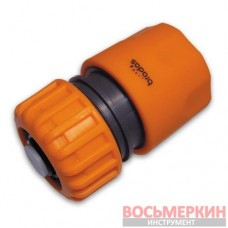 Коннектор Gold Line 3/4 Stop Power Jet GL5912P Bradas