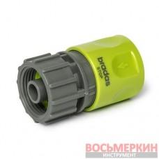 Коннектор Lime Edition РВ 3/4 - Stop LE-2141 Bradas