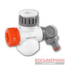 Многофункциональный адаптер на кран White Line Multi Shower РВ 1 - 3/4 WL-3140 Bradas