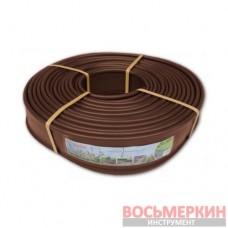 Бордюр 18м x 12.5см коричневый OBKB18125 Bradas