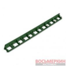 Бордюр садовый Rim-Board 45/1000мм зеленый OBRGR45 Bradas