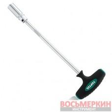 Т-обр магнитный свечной ключ 21мм L350мм CTFB2135 TOPTUL